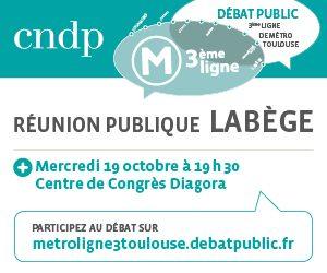 Débat public 3ème ligne de métro : Mercredi 19 octobre à 19h30