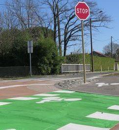 Avenue Riquet et chemin du collège Périgord : attention aux stops !