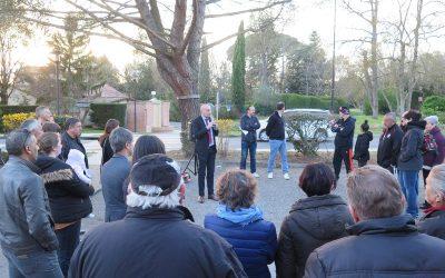 Inauguration du site de conteneurs enterrés rue Jacques Brel