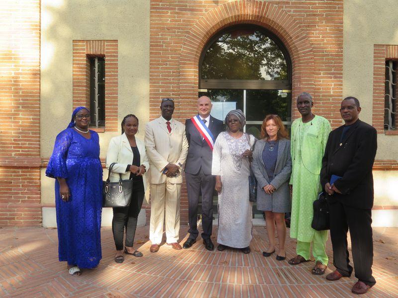 Une délégation sénégalaise en visite à Labège