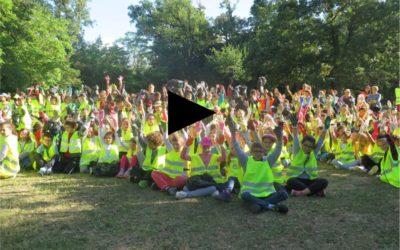 Film du World Clean Up Day des enfants Labégeois