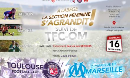 Venez soutenir le TFC féminin à Labège !