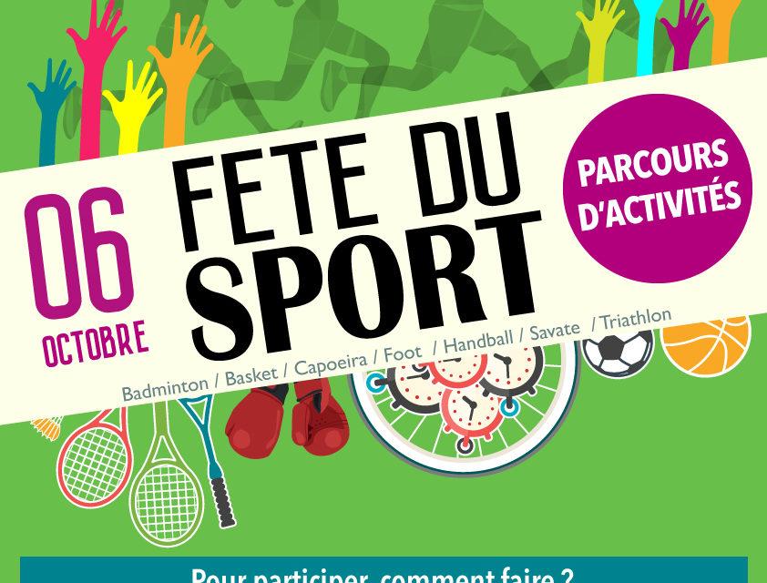 Prêts pour la fête du sport ?
