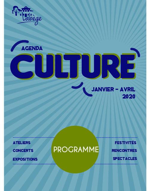 Agenda culture 2020