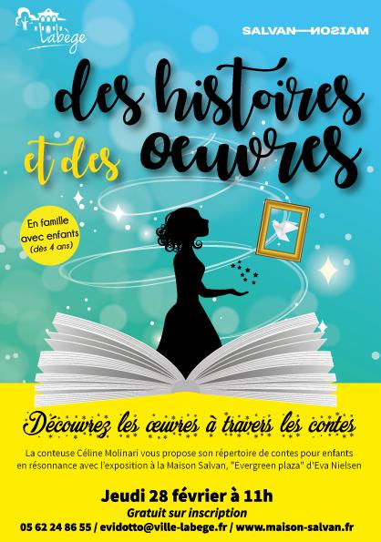 Spectacle «Des histoires et des œuvres»