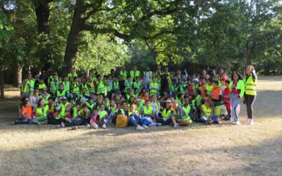 World Clean Up Day : Bravo les enfants !