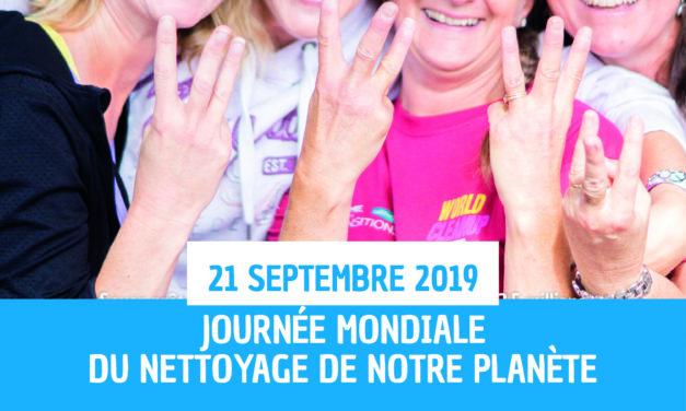 Le 21 septembre : nettoyons la planète en 1 jour