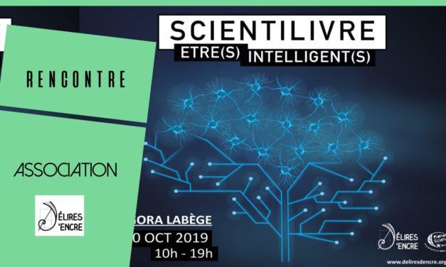 Scientilivre 2019  le thème « Être(s) Intelligent(s) »