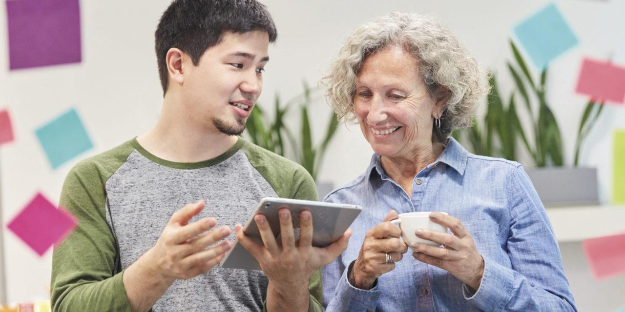 Ateliers seniors : découverte du numérique