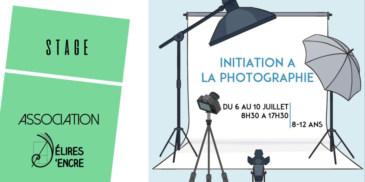 Stage enfants « Initiation à la photographie »