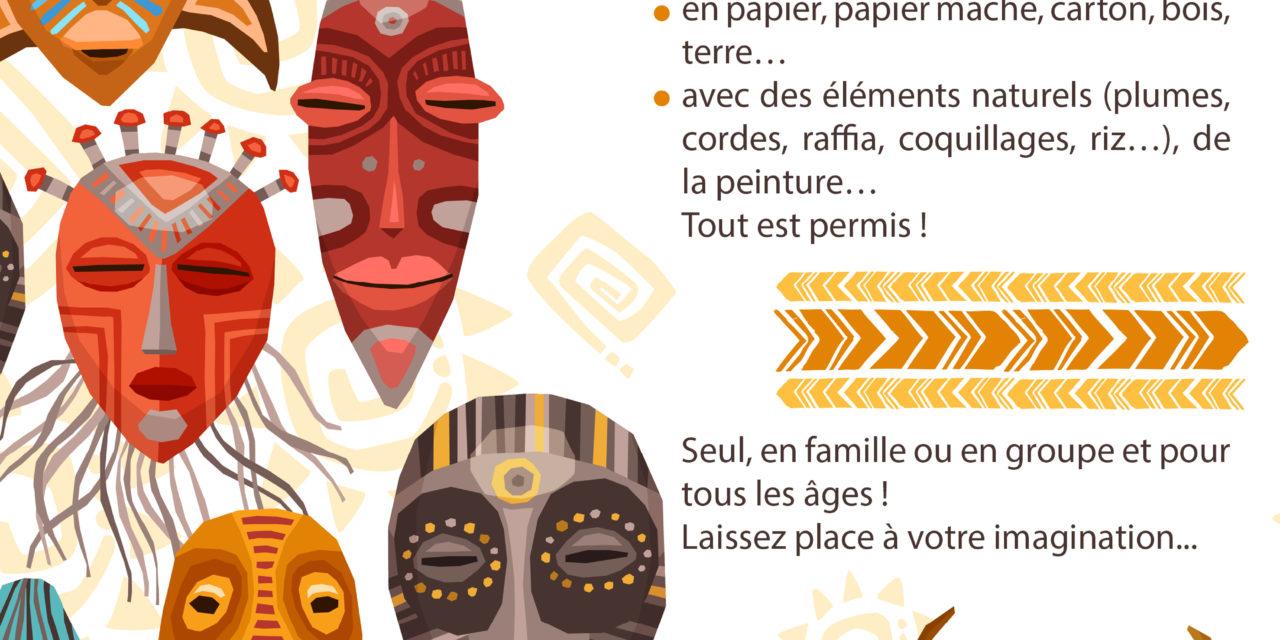 Grand concours de masques africains
