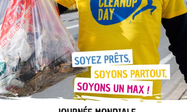 World Clean Up Day : le 19 septembre, rejoignez le mouvement mondial !