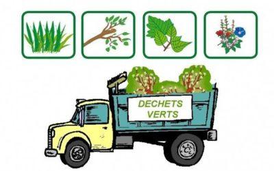 Report de la collecte des déchets verts des 12 et 13 juillet