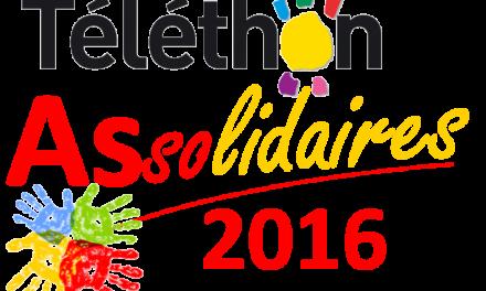 Téléthon 2016 : 2,3 et 4 décembre : demandez le programme !