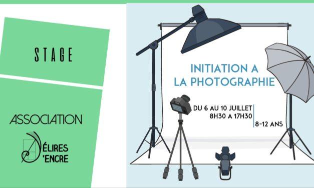 Stage enfants «Initiation à la photographie»